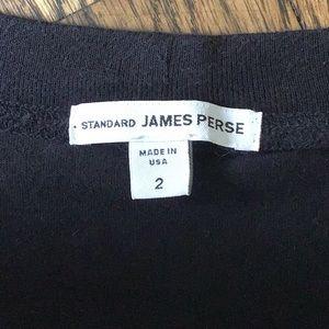 GUC James Perse supima cotton scoopneck raglan top